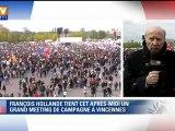 François Hollande/Nicolas Sarkozy : duel de meetings
