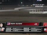 KEN GUSHI  During Qualifying for Top 32 @Formula Drift Las Vegas 2011 (second run)