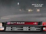 MATT WALDIN  During Qualifying for Top 32 @Formula Drift Las Vegas 2011 (first run)