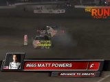 MATT POWERS vs FREDRIC AASBO during Top 16  @ Formula Drift Las Vegas 2011