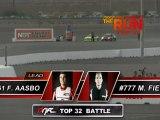 FREDRIC AASBO  vs  MATT FIELD during qualifying for Top 16 @ Formula Drift Las Vegas 2011