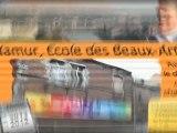 Namur l' Ecole des Beaux Arts, avant rénovation
