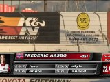 FREDRIC AASBO @ Formula Drift Round 7 During 1st Run of Qualifying for Top 32