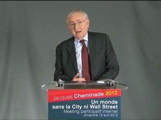 Discours de Jacques Cheminade - Meeting participatif