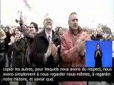 """François Hollande à Vincennes : """"La grandeur de l'Histoire"""""""