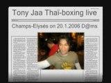 Tony Jaa - démo de mue thai