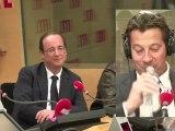 La chronique de Laurent Gerra devant François Hollande (réalisation Gaya Bécaud)