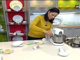 Choumicha - Gâteau de Choumicha Biscuit à la nougat