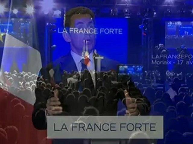 Discours de Nicolas Sarkozy à Morlaix