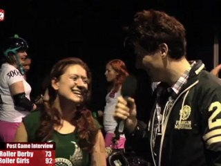 Manchester Roller Derby vs Central City Rollergirls (19-08-2011) -Post Bout Interview MRD