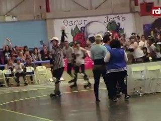 Brighton Rockers Roller Derby vs Dublin Rollergirls - Last Jams 16-10-2011