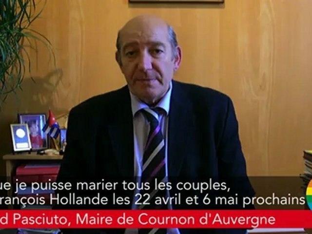 Engagement 31 - Bertrand Pasciuto (Cournon d'Auvergne) s'engage