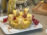 Cuisine : Recette de brochettes d'ananas