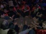 Mercredi 18 avril 2012 : le lavement des pieds avec les jeunes du Frat