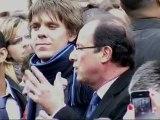 François Hollande s'adresse aux jeunes à Amiens 18 avril 2012