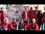 Les jeunes socialistes de Savoie avec François Hollande