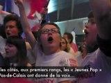Arras : Nicolas Sarkozy en meeting à Artois Expo