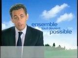 Les promesses présidentielles de Sarkozy