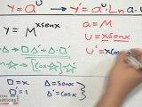 Derivar una función ¨con base numérica y función como potencia¨ - HD