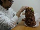 Hamburger Japonais avec 1050 tranches de bacon