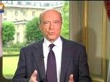 """Alain Juppé sur BFMTV : """"François Hollande court toujours après le train"""""""