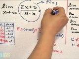 Evaluar un límite racional que tiende al infinito (parte 1) - HD