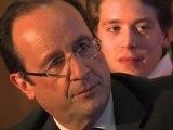 Rencontre de F. Hollande avec des jeunes