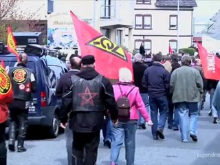 Antifaschistische Demonstration am 14.4. 2012 in Lollar