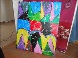 mes tableaux acryliques