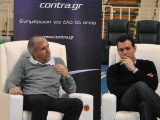 Ομπράντοβιτς-Ιτούδης TV interview @ Contra.gr - Trailer