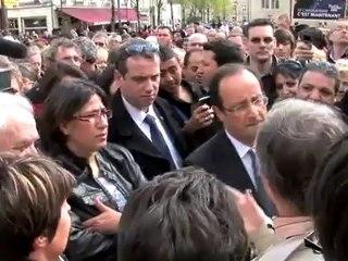 BURE : François HOLLANDE et Michel MARIE se tutoient !