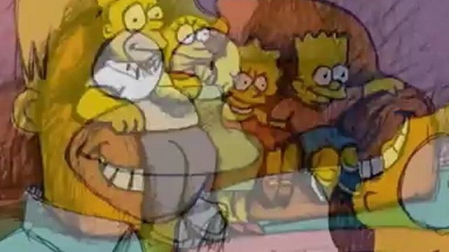 THE SIMPSONS - Bill Plympton Couch Gag from Beware My Cheating Bart