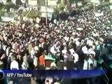 Syrie: manifestation à Douma près de Damas