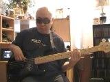 Waiting in Vain Bob Marley  basscover2 Bob Roha bassline Aston Familyman Barrett