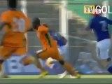 """But de Yannick Boli,  Côte d'Ivoire vs Japon ( festival """"espoirs"""" de Toulon, Mai 2010)"""