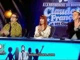 """Nicolas Motet interprète """"Alexandrie Alexandra"""" dans A la recherche du nouveau Claude François et ses Clodettes - 20 mars 2012"""