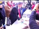 Vote de Jean-Luc Mélenchon, candidat du Front de gauche à Paris
