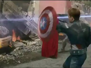 #3 - Combat Captain America et Thor - Extrait #3 - Combat Captain America et Thor (Anglais sous-titré français)