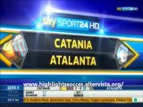 Catania-Atalanta 2-0 Highlights All Goals Sky Sport HD