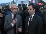 Réaction de Benoit Hamon aux résultats du premier tour de l'élection présidentielle 2012