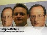 Réactions présidentielles Christophe Cathus PS Bergerac