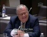 Mission agriculture du 29/10/09, question du Député Marc Francina concernant les pêcheurs professionnels sur le Lac Léman