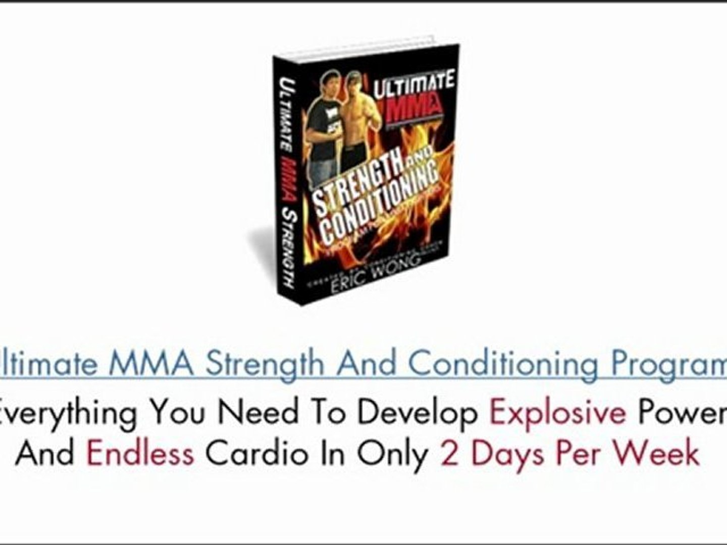 Ultimate MMA Strength and Conditioning - Eric Wong