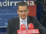 """Basagoiti: """"Medidas de Rajoy no gustan"""""""