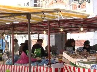 Le marché central de La Rochelle