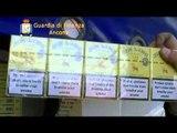 Ancona - Contrabbando, doppio sequestro di sigarette al Porto (11.04.12)