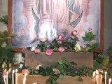 La vierge de Guadalupe à Notre Dame de Paris 2011