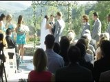 Ryan and Page Raving about Temecula DJ, Lighting and Photo Booth C Squared Events