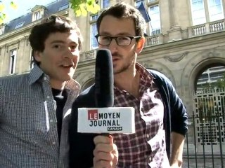 Le Moyen Journal : élections présidentielles