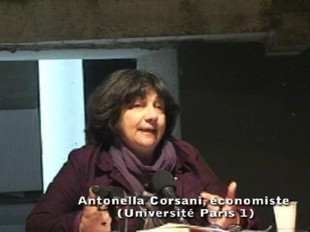 Revenu d'existence - Colloque POURS - Antonella Corsani et Michel Lepesant - Table ronde 1
